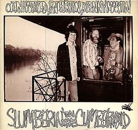 Обложка альбома Джона Хартфорда «Slumberin' on the Cumberland» (1979)
