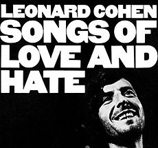 Обложка альбома Леонарда Коэна «Songs of Love and Hate» (1971)