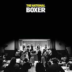 Обложка альбома The National «Boxer» (2007)