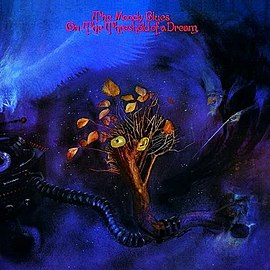 Обложка альбома The Moody Blues «On the Threshold of a Dream» (1969)