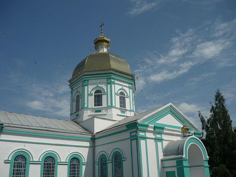 Монастырь в честь Успения Пресвятой Богородицы в с. Приморское