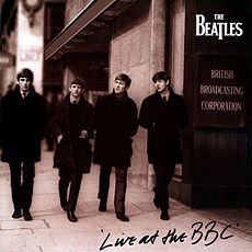 Обложка альбома The Beatles «Live at the BBC» (1994)