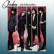 Обложка альбома The Quireboys «A Bit of What You Fancy» (1990)