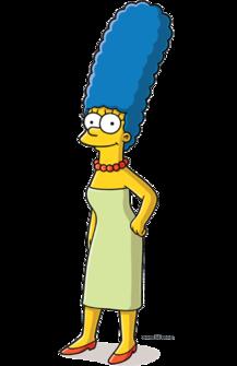 Лиза симпсон с волосами