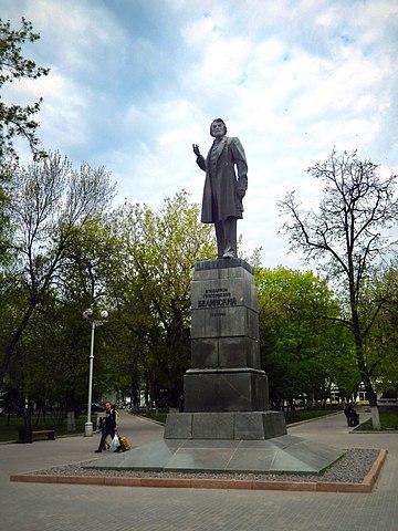Памятник Белинскому (Пенза, Театральный проезд).jpg