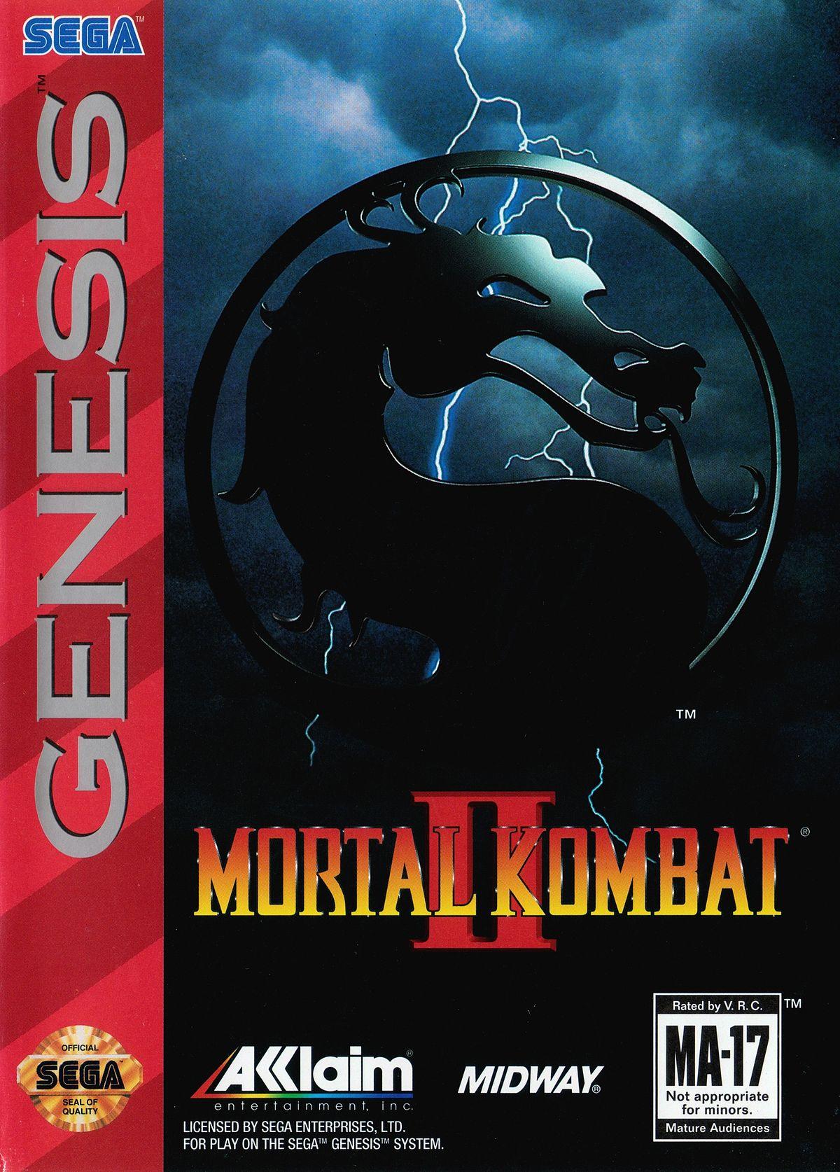 Mortal Kombat II Review (Sega Genesis, 1994) | Infinity Retro