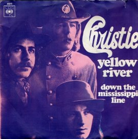 Обложка сингла Christie «Yellow River» (1970)