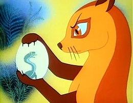 Кадр из мультфильма «Рикки-Тикки-Тави»