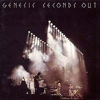 Обложка альбома Genesis «Seconds Out» (1977)