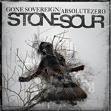 Обложка сингла «Gone Sovereign/Absolute Zero» (Stone Sour, 2012)