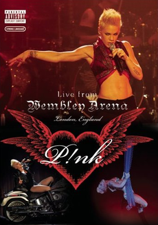 Обложка альбома Pink «Pink: Live from Wembley Arena» (2007)