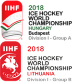 2018 IIHF Ice Hockey World Championship Division I Logo.png