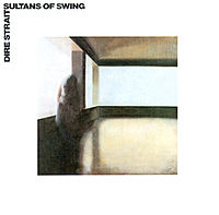 Обложка сингла «Sultans of Swing» (Dire Straits, 1978)