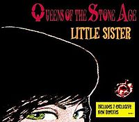 Обложка сингла «Little Sister» (Queens of the Stone Age, 2005)