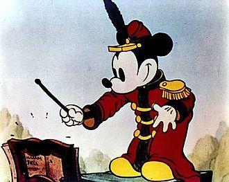 Кадр из мультфильма «Концерт» (1935)