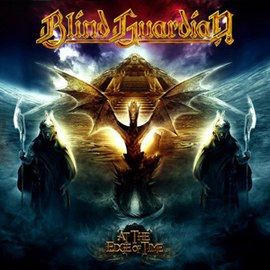 Обложка альбома Blind Guardian «At the Edge of Time» (2010)
