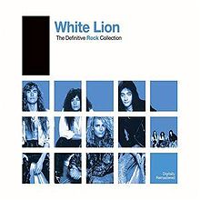 Обложка альбома White Lion «The Definitive Rock Collection» (2007)