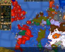 Карта Европа В Период Революционных И Наполеоновских Войн