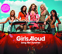 Обложка сингла «Long Hot Summer» (Girls Aloud, 2005)