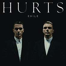 Обложка альбома Hurts «Exile» (2013)