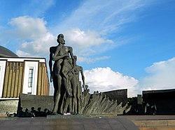 Памятник подешевле Битцевский парк Мемориальный одиночный комплекс с крестом Дорогобуж