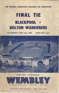 1953 FA Cup Final programme.jpg