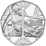 2005 Austria 5 Euro 100 Years of Skiing back.jpg