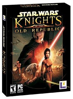Коробка CD «Star Wars: Knights of the Old Republic»