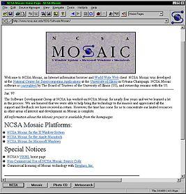 Mosaic браузер - фото 4