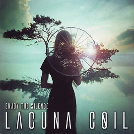 Обложка сингла Lacuna Coil «Enjoy the Silence» (2006)