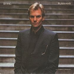 Sting — Russians (studio acapella)