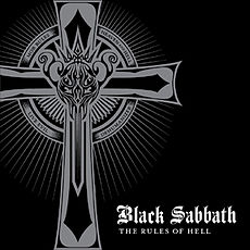 Обложка альбома Black Sabbath «The Rules of Hell» (2008)