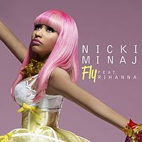 Обложка сингла «Fly» (Nicki Minaj при участии Rihanna, {{{Год}}})