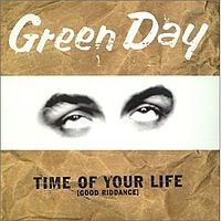 Обложка сингла «Good Riddance (Time of Your Life)»» (Green Day, 1997)