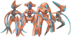 - Coloriage pokemon deoxys ...