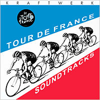 Обложка альбома Kraftwerk «Tour de France Soundtracks» (2003)