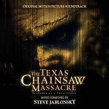 Обложка альбома Стива Яблонски «The Texas Chainsaw Massacre:Original Motion Picture Score» (2003)