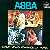 Обложка сингла «Money, Money, Money» (ABBA, 1976)