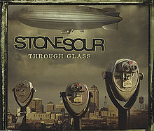 Обложка сингла «Through Glass» (Stone Sour, 2006)