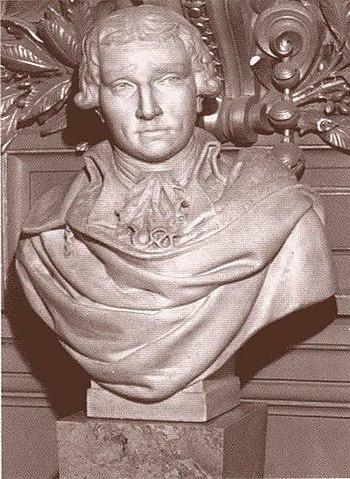Бюст Антонио Сальери в здании Парижской оперы; скульптор Л.Ф.Шабо