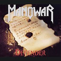 Обложка сингла «Defender» (Manowar, 1994)