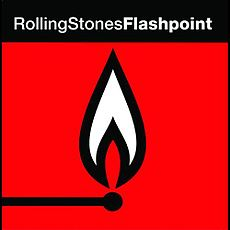 Обложка альбома The Rolling Stones «Flashpoint» (1991)