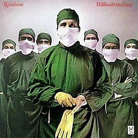Обложка альбома Rainbow «Difficult to Cure» (1981)
