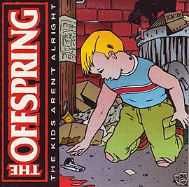 Обложка сингла The Offspring «The Kids Aren't Alright» (1999)