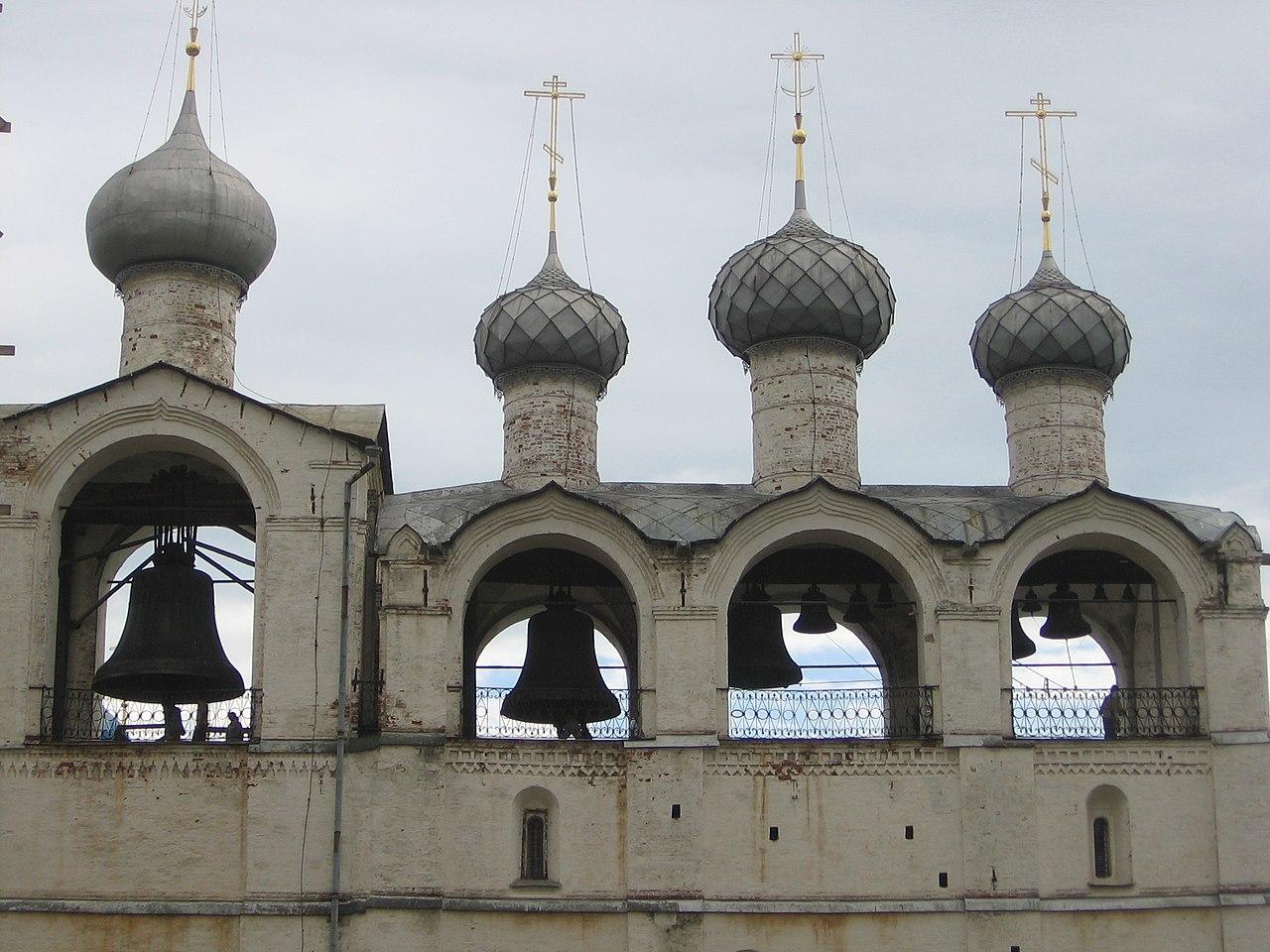 Колокола звонницы Успенского собора Ростовского кремля