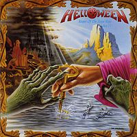 Обложка альбома Helloween «Keeper of the Seven Keys Part 2» (1988)