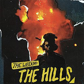 Обложка сингла The Weeknd «The Hills» (2015)