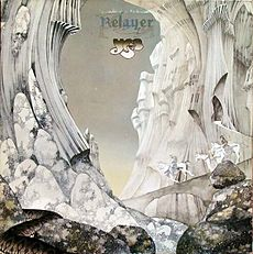 Обложка альбома Yes «Relayer» (1974)