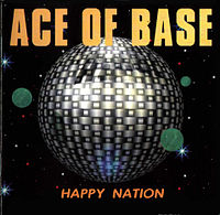 Обложка альбома Ace of Base «Happy Nation» (1993)