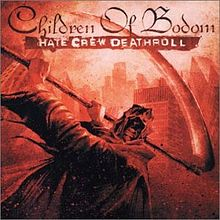 Обложка альбома Children of Bodom «Hate Crew Deaththroll» (2003)